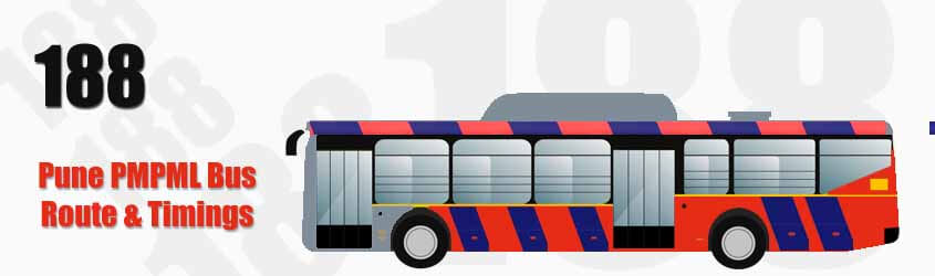 188 Pune PMPML City Bus Route and PMPML Bus Route 188 Timings with Bus Stops