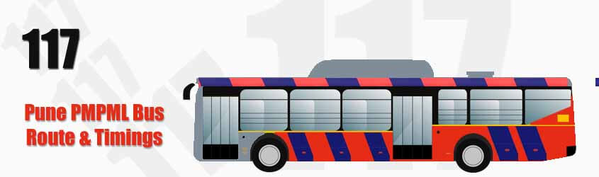 117 Pune PMPML City Bus Route and PMPML Bus Route 117 Timings with Bus Stops